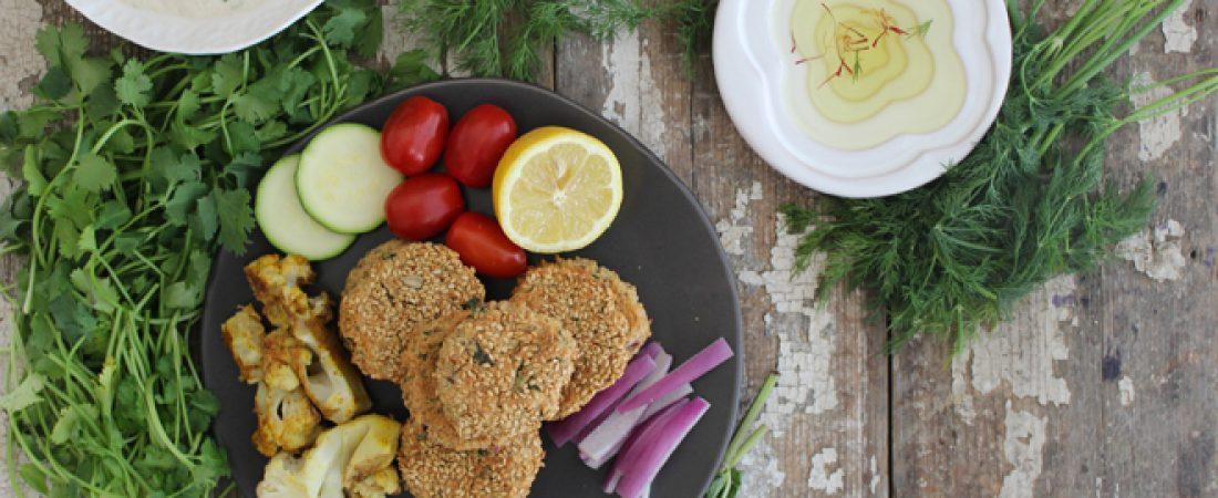 Herb Falafel & Plant-Based Tzatziki